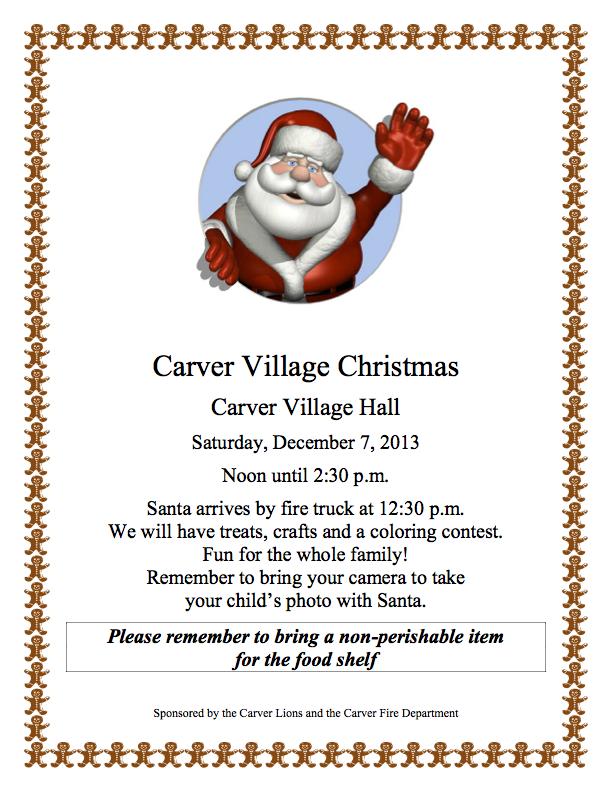Carver Village Christmas